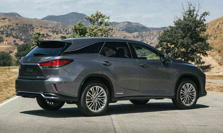 lexus rx 350 redesign 2022 Lows Lazy driving demeanor, relaxed acceleration