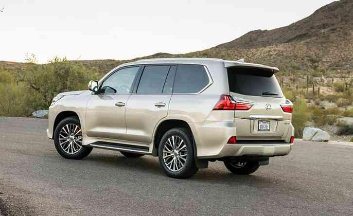 2022 Lexus LX: Launching New Lexus LX SUV With V8 Twin ...