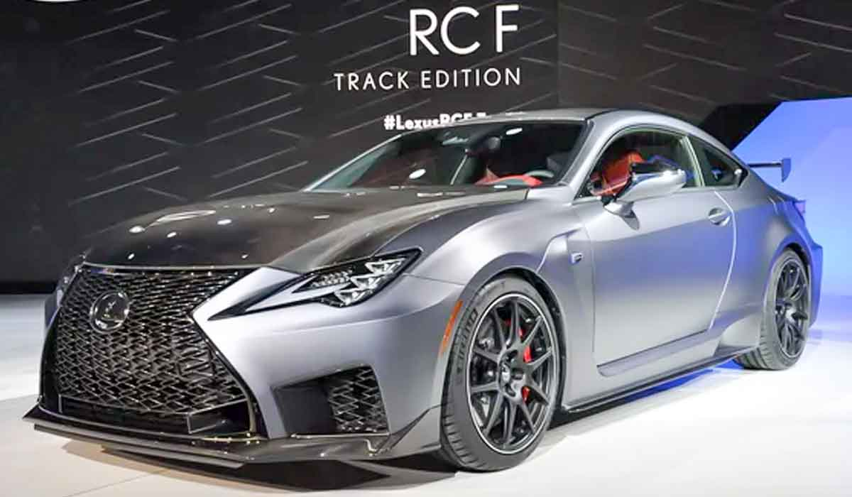2022 Lexus RCF